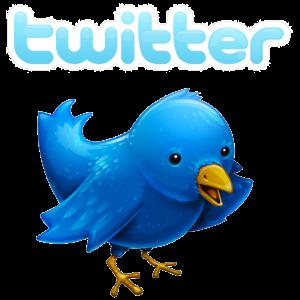 Twitters namnlogotyp och fågelsymbol
